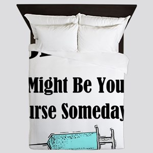 Be Nice - Nurse Queen Duvet