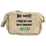 Nurse Canvas Messenger Bags