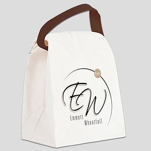 EW Logo Canvas Lunch Bag