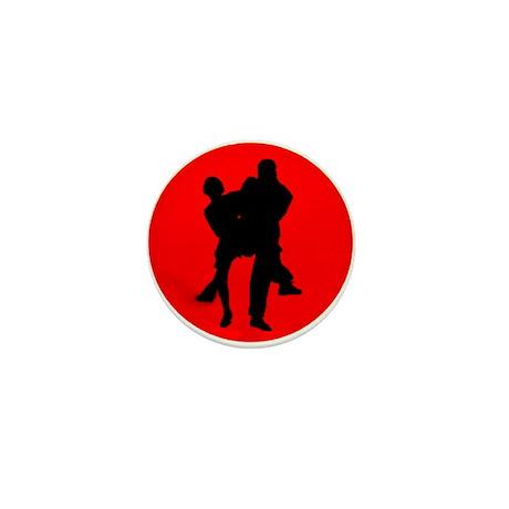Red Moon Dancers Mini Button