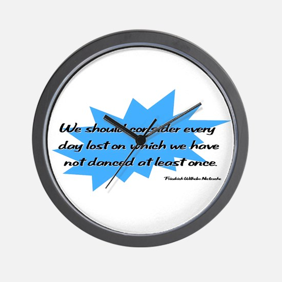 Day Lost Without Dancing Wall Clock