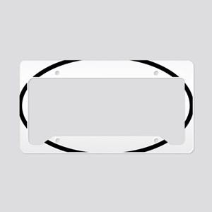 Oly Oval logo License Plate Holder