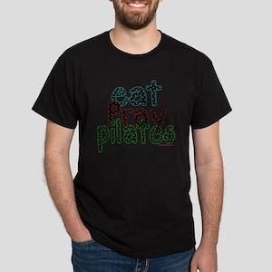 eat pray pilates 2 copy Dark T-Shirt
