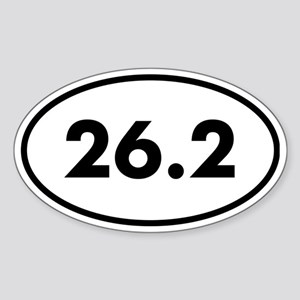 26 Oval Sticker (Oval)