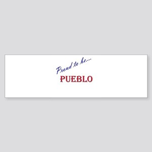 Pueblo Bumper Sticker