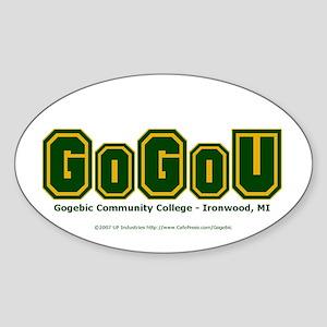 GoGoU - Oval Sticker