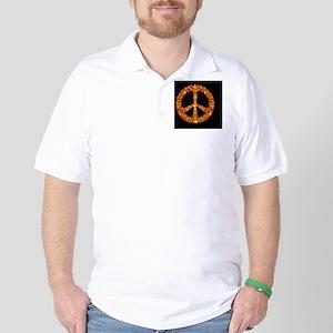 GoldleafPeaceBjrs Golf Shirt