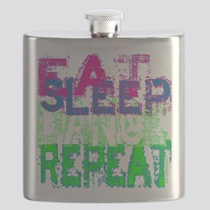 eat sleep dance repeat for black copy Flask