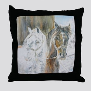 Whiskey and Soda 10 darker Throw Pillow