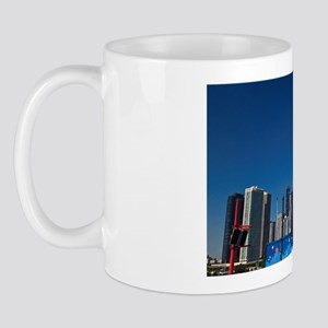 A view of Chicago skyline from Navy Pie Mug