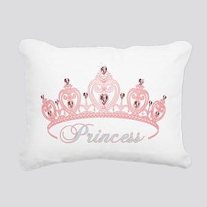 princess crown Rectangular Canvas Pillow