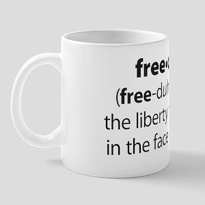 Freedumb 4 Black Mug