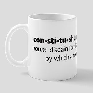 NEW Constitushun 3 Black Mug