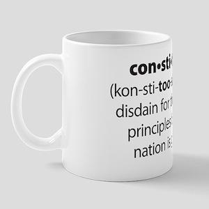 NEW Constitushun 5 Black Mug