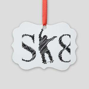 sk8_patinador_3_light Picture Ornament