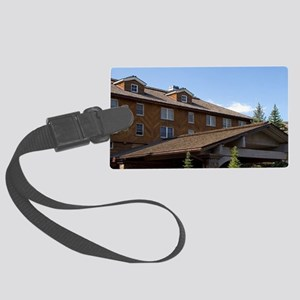 The Sun Valley Lodge located in  Large Luggage Tag