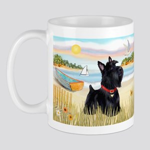 Rowboat & Scottie Mug