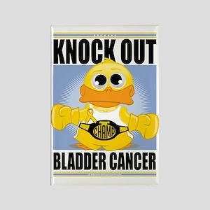 Knock-Out-Bladder-Cancer Rectangle Magnet