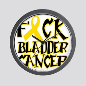 Fuck-Bladder-Cancer Wall Clock