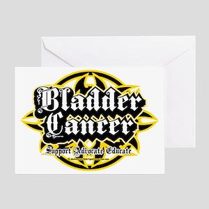 Bladder-Cancer-Tribal Greeting Card