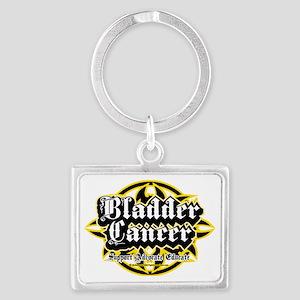 Bladder-Cancer-Tribal Landscape Keychain