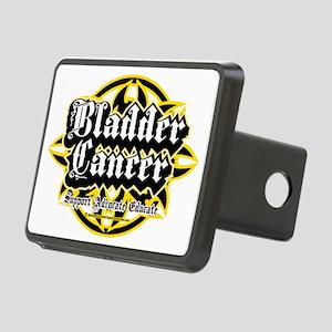 Bladder-Cancer-Tribal Rectangular Hitch Cover