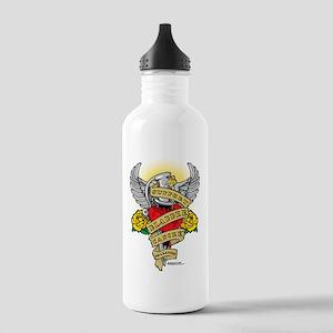 Bladder-Cancer-Dagger Stainless Water Bottle 1.0L