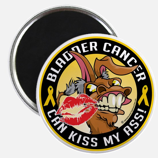 Bladder-Cancer-Can-Kiss-My-Donkey Magnet