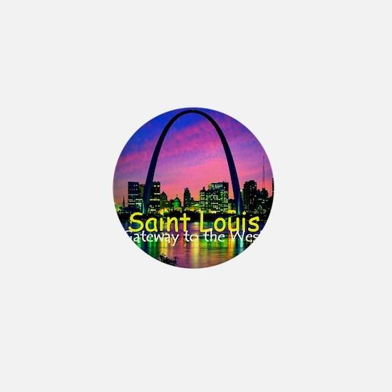 St Louis Mini Button