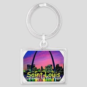 St Louis Landscape Keychain