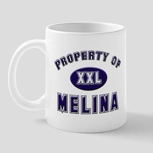 Property of melina Mug