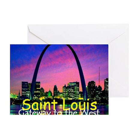 St Louis Greeting Card
