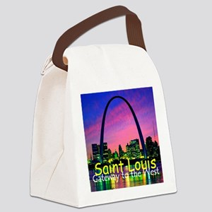 St Louis Canvas Lunch Bag