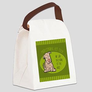 TILEvettech Canvas Lunch Bag