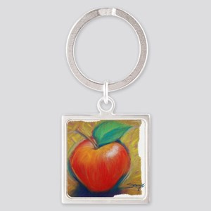 Apple1 Square Keychain