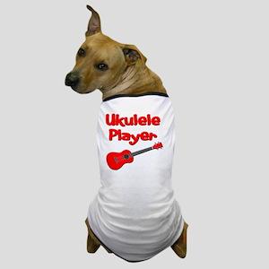 red ukulele Dog T-Shirt