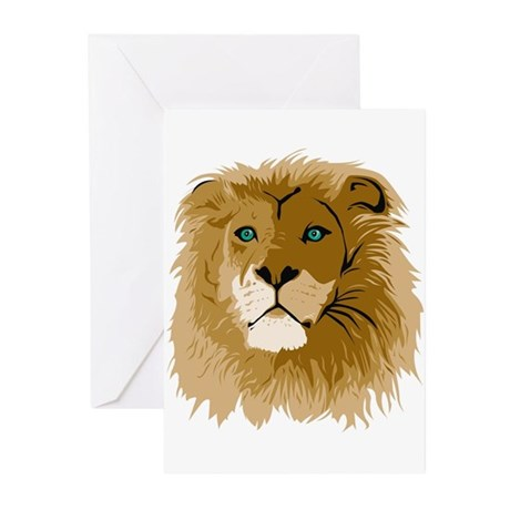 Lion Greeting Cards (Pk of 10)