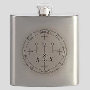 RaphSealBlk Flask