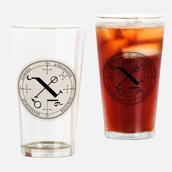 CamSealBlk Drinking Glass
