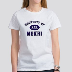 Property of mekhi Women's T-Shirt