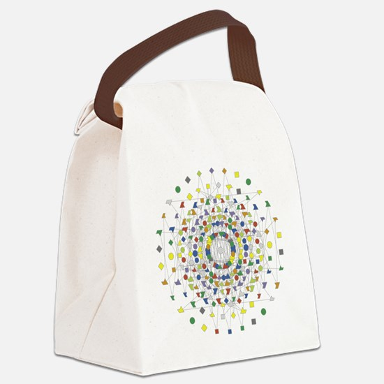 New E8 Canvas Lunch Bag