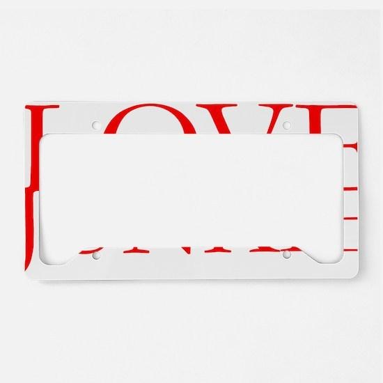 Love Junkie.gif License Plate Holder