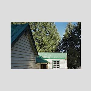 Historic Mt Aurum Homestead, Skip Rectangle Magnet