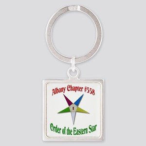 OES 558 Square Keychain