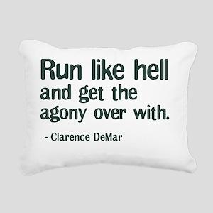 RunLikeHellSQUARE Rectangular Canvas Pillow