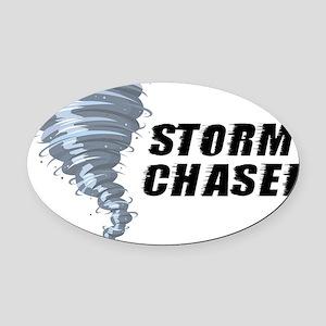 storm chaser1 Oval Car Magnet