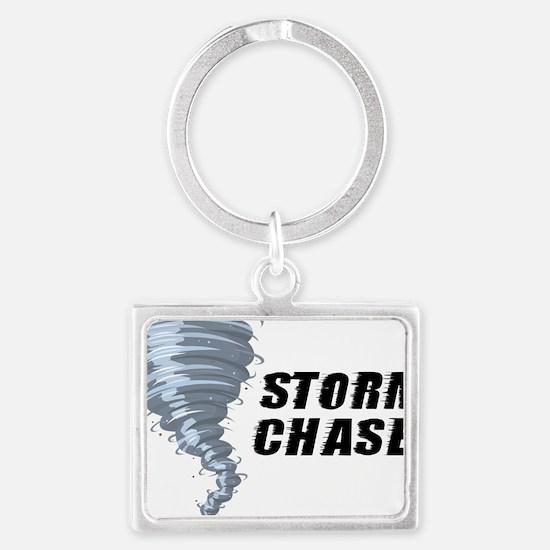 storm chaser1 Landscape Keychain