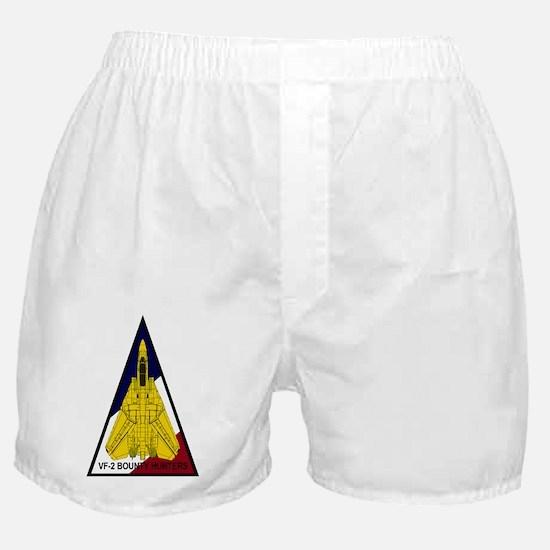 VF-2 Bounty Hunters - F-14D Triangle Boxer Shorts