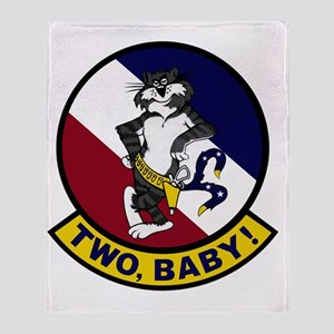 VF-2 Bounty Hunters - Two Baby Throw Blanket