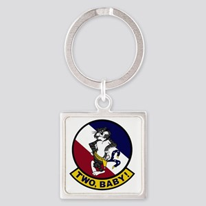 VF-2 Bounty Hunters - Two Baby Square Keychain